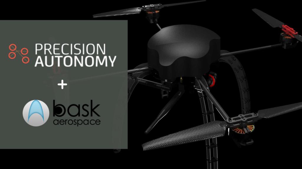 Precision Autonomy partnership with bask aerospace